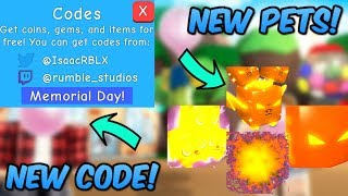 *NEW* BUBBLE GUM SIMULATOR UPDATE 26! NEW PETS, AND CODES! (Roblox Bubble Gum Simulator