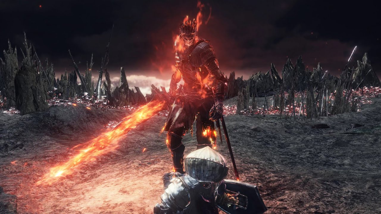 Dark Souls 3 Soul Of Cinder Final Boss Fight And Secret Ending