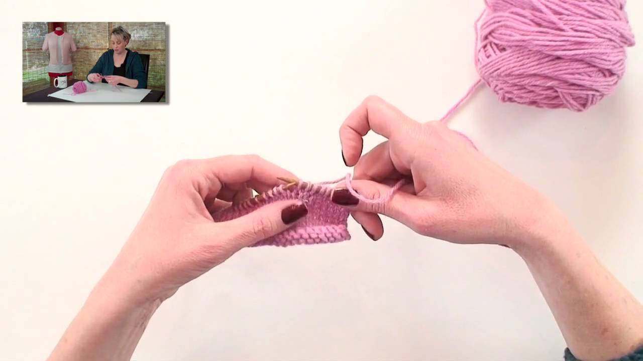 ae6bae2bdc75 Knitting Help - Make 1 (M1) - YouTube
