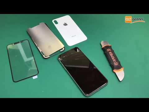 How To Replace IPhone X LCD Glass Screen | LCD Replacement