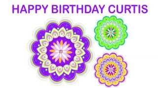 Curtis   Indian Designs - Happy Birthday