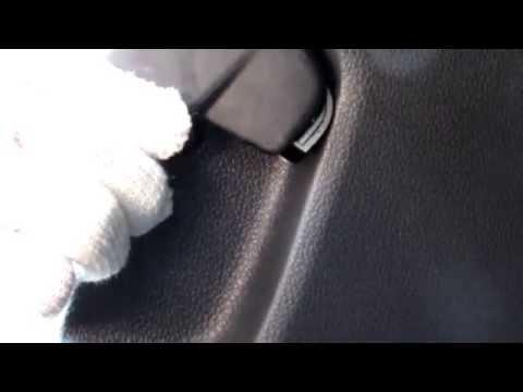 Как снять ручку открывания капота поло седан