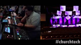 Digital Soundboard Setup For A Concert - Church Technology - Episode 6 - Tech-Zen.tv - Alixa.tv