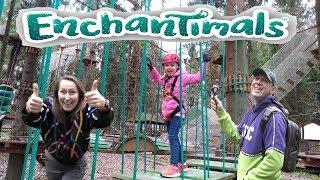 #Enchantimals Волшебный лес подружек Pretty Katy Queen и #Энчантималс зверушек