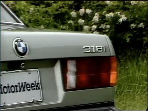 MotorWeek   Retro Review: '82 BMW E30 318i
