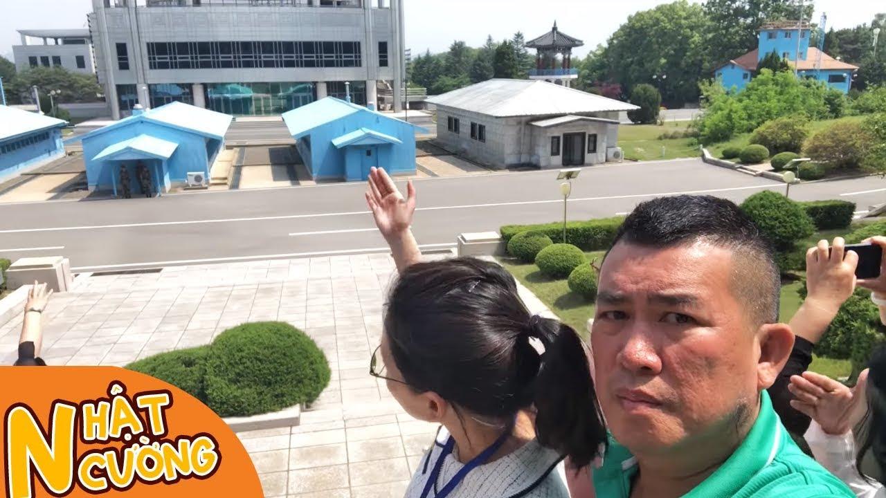 Nhật Cường đến biên giới Triều Tiên và Hàn Quốc