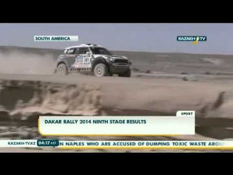 Dakar rally 2014 ninth stage results