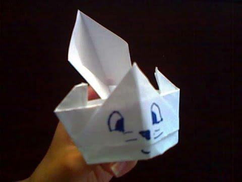 Origami Cat Tutorial : Intermediate