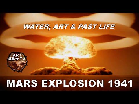 MARS EXPLOSION 1941 - Seen By Pluto's Discoverer - WATER, ART & PAST LIFE. ArtAlienTV
