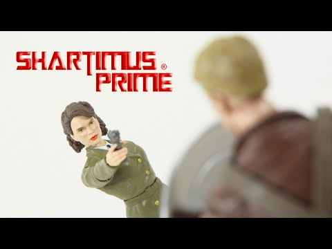 Marvel Legends Peggy Carter And Captain America First Avenger MCU Hasbro Action Figure Review