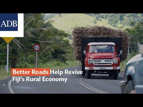 Better Roads Help Revive Fiji's Rural Economy