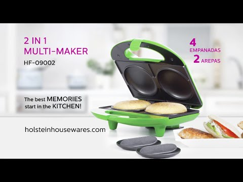 HF-09002- 2 In 1 Multi Maker- Holstein Housewares