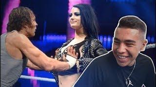 נסו לא לצחוק (רגעים מביכים) |גרסת ה- WWE