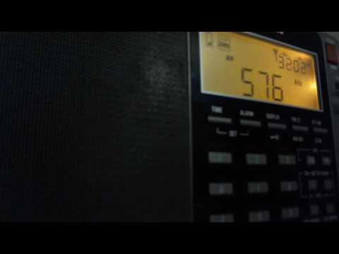 BNR Radio Bulgaria 22:50 utc on 576 khz 11 October 2016