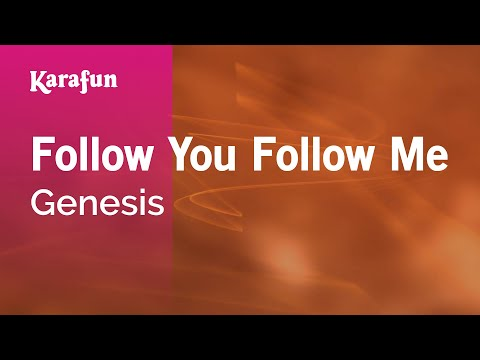 Karaoke Follow You Follow Me - Genesis *