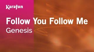 Karaoke Follow You Follow Me - Genesis *