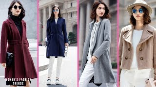 Top 2018 Trends Stay Stylish and Up to Date: A New Wool Blend Coat