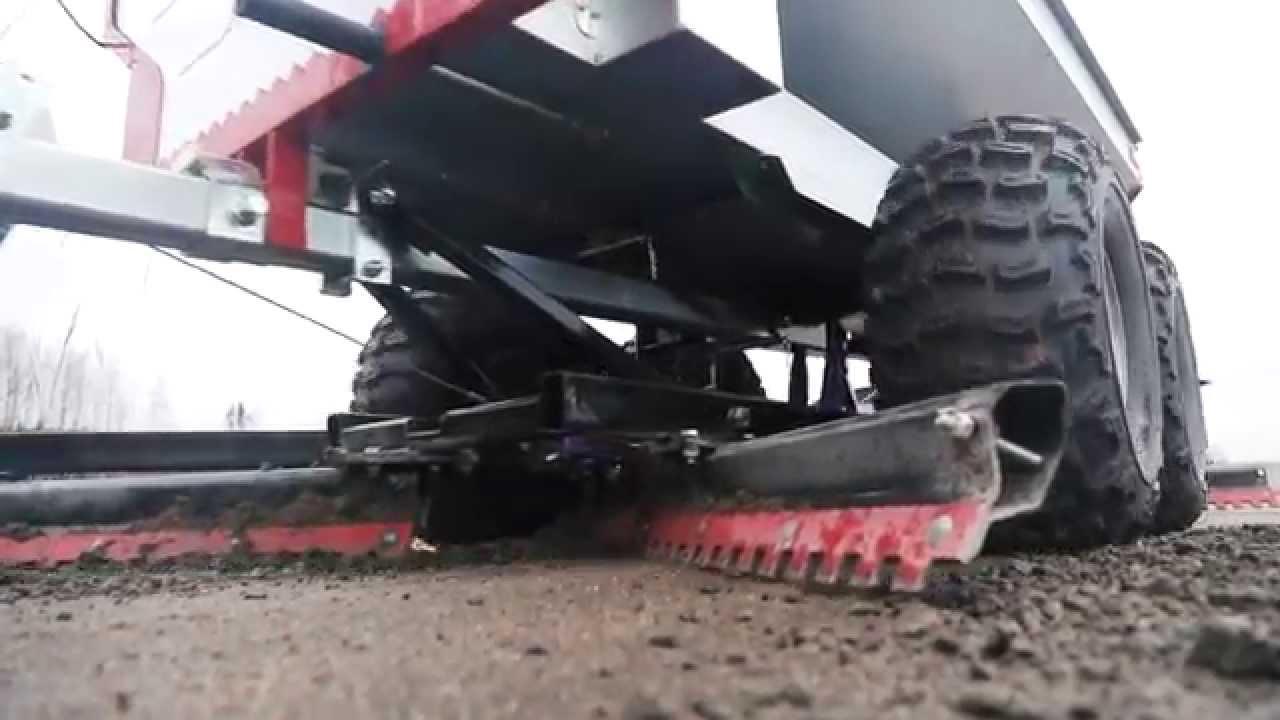 traktorimönkijä peräkärry