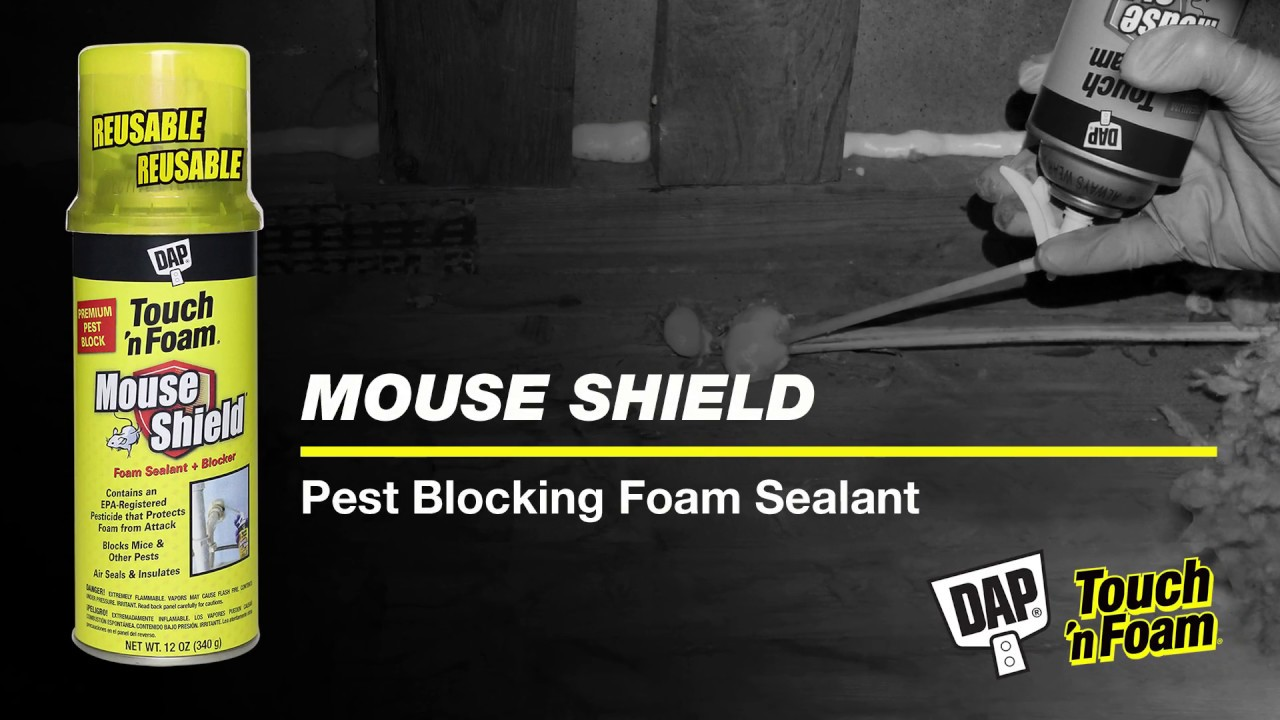 Mouse Shield Foam Sealant + Blocker | Touch 'n Foam