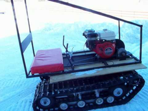 homemade twin track go kart II YouTube
