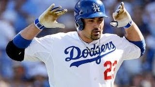 Adrian Gonzalez 2013 Highlights