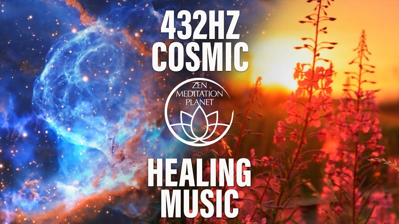 Cosmic Healing Music Space Waves 432 Hz Youtube