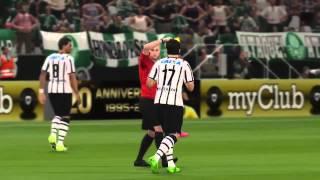PES 16 Demo - Corinthians x Palmeiras