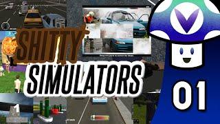[Vinesauce] Vinny - Shitty Simulators (part 1)