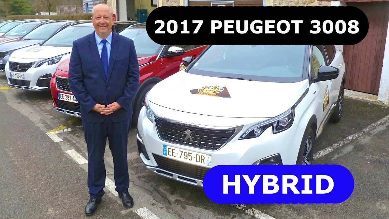 2017 peugeot 3008 hybrid first presentation youtube. Black Bedroom Furniture Sets. Home Design Ideas