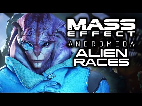 MASS EFFECT ANDROMEDA: Which Alien Races Will We See in Andromeda? (New Races and Returning Aliens)