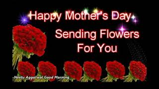Happy Mother's Day,Flowers For You,Mother's Day Animated Card,Mother's Day Message,Wishes,Greetings