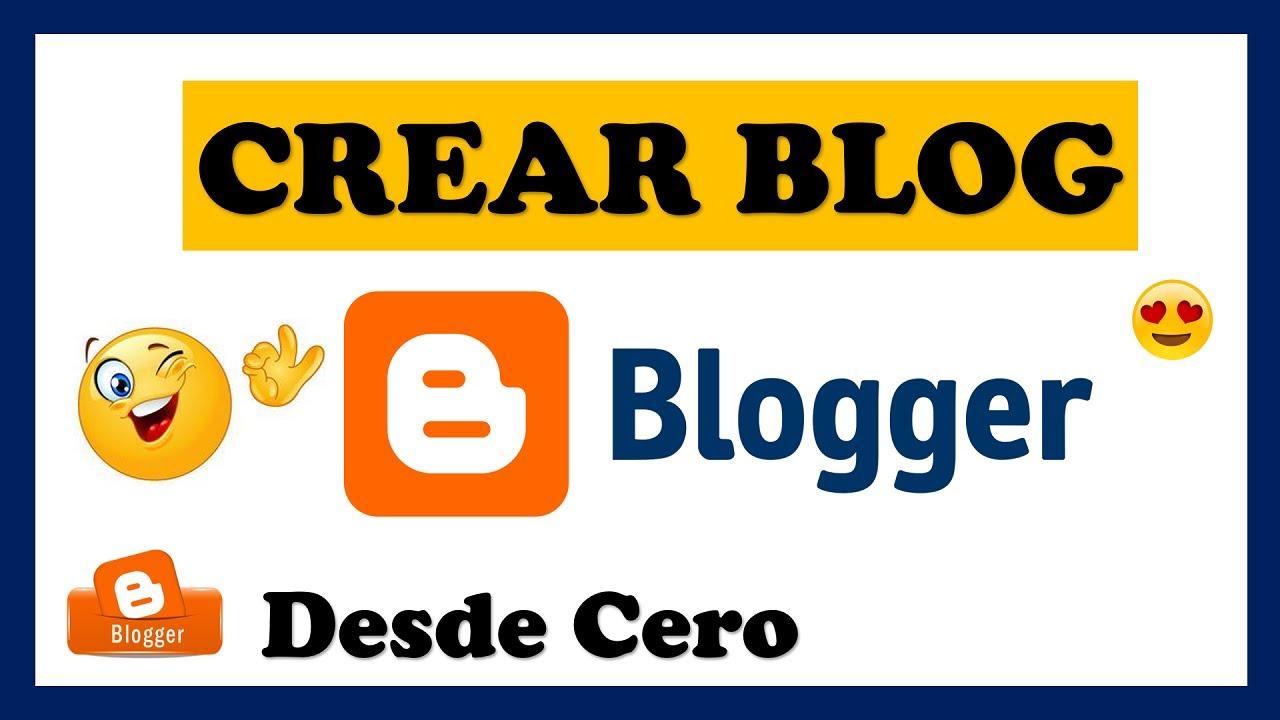 ? Como CREAR un BLOG en Blogger [GRATIS] ?