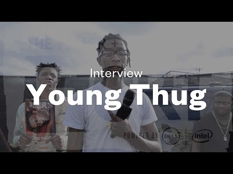 Young Thug - Interview at The FADER FORT Presented by Converse