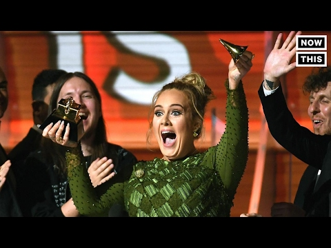 Adele Broke Her Grammy In Half To Share It With Beyoncé