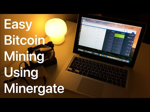 Easy Bitcoin Mining Using Minergate!! Works For PC And Mac