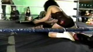 Cuban Assassin & Nicole Starr vs. Frank Savage & Little Jeannie (A.I.W. West Virginia )