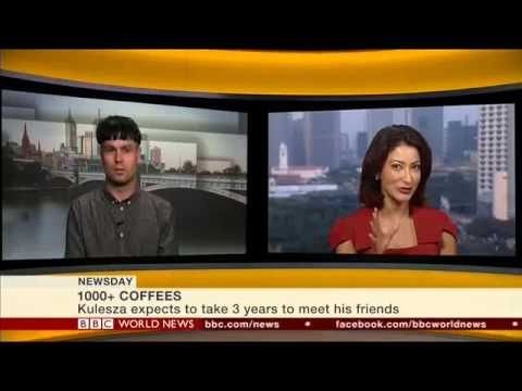 1000+ Coffees on BBC World News (October 6th 2014)