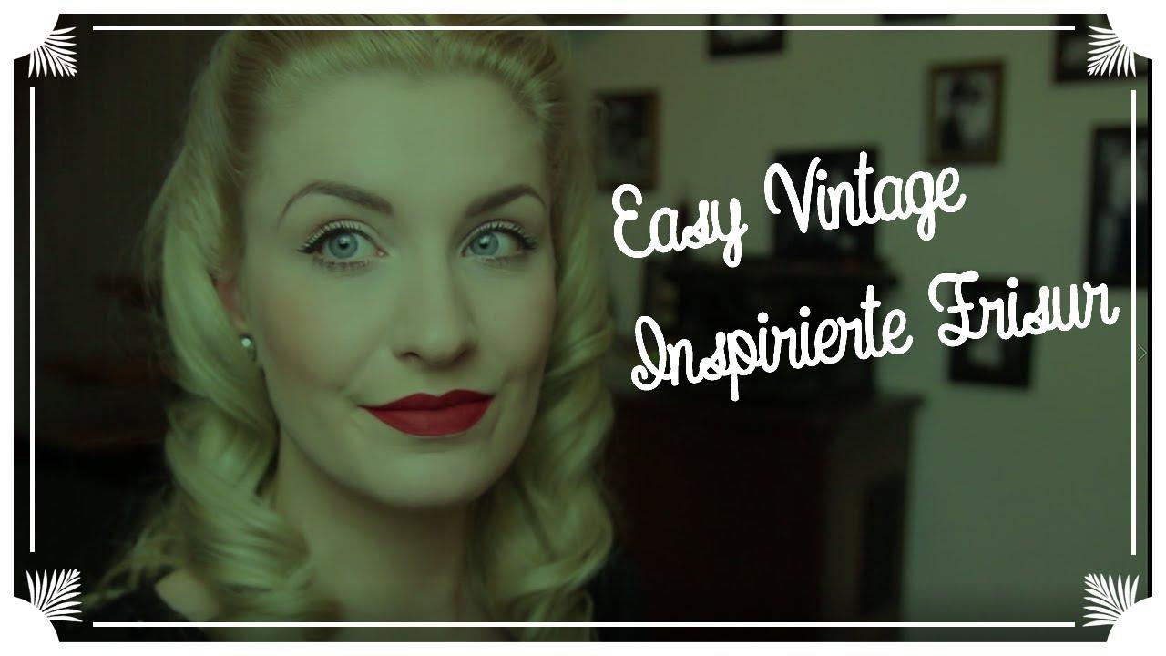 Einfache Vintage Inspirierte Frisur für Anfänger / UPDATE (ENGLISH  SUBTITLES)