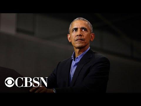 Former President Obama campaigns for Joe …