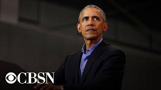Former President Obama campaigns for Joe Biden in Pennsylvania