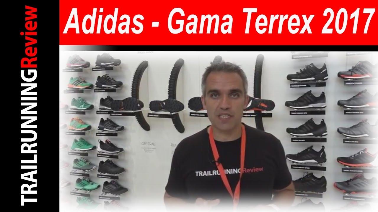 Adidas gama terrex 2017 su youtube