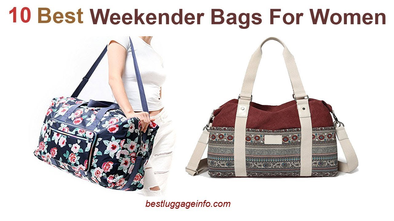 Best Weekender Bags For Women   Ten Best Cute Travel Weekender Overnight  Bags For Women. e06b0ad0d3
