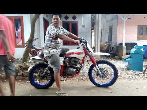 Setting Trail Rakitan Honda GL Pro Jadul