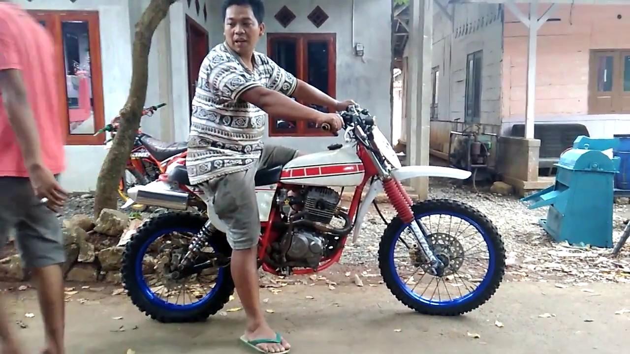 Setting Trail Rakitan Honda Gl Pro Jadul Youtube