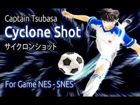 Captain Tsubasa - Cyclone Shot  (Game Nes - Snes)