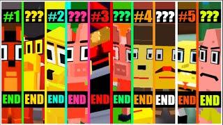 Kitty - All 10 Endings + CHAPTER 5 SECRET ENDING CUTSCENE! [ROBLOX]