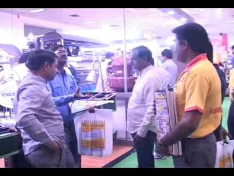 Free Distribution of Food Processing News Papers - 'Aahara 2011'