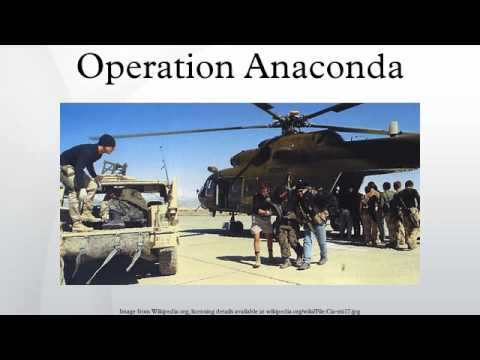 Operation Anaconda