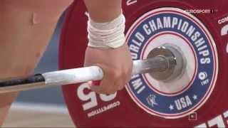 Тяжелая атлетика. Чемпионат Мира 2015 г. Женщины до 63 кг.