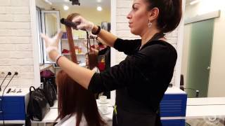 Trissola true Кератиновое выпрямление волос